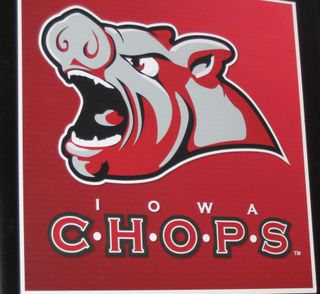 Iowa Chops Sign