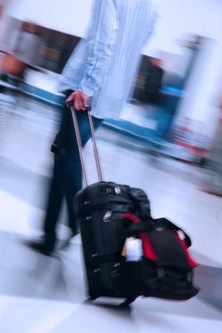 Man suitcase