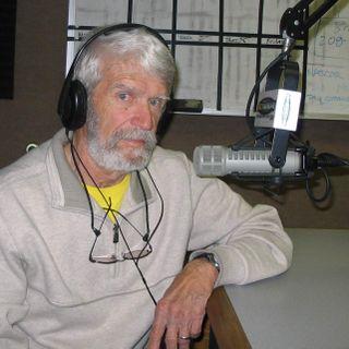 Jim Clewell in studio