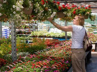 Woman Garden Ctr Use
