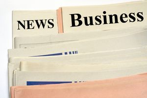 Newspaper business
