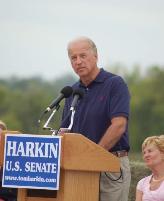 Joe Biden Harkin Event