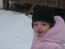 Jov in the snow