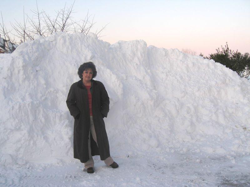 Georgie Dec 10 Snow