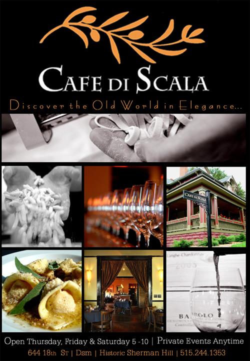 Cafe di scala