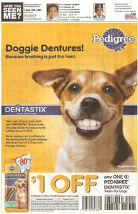 Smiling Dog Ad March 2010