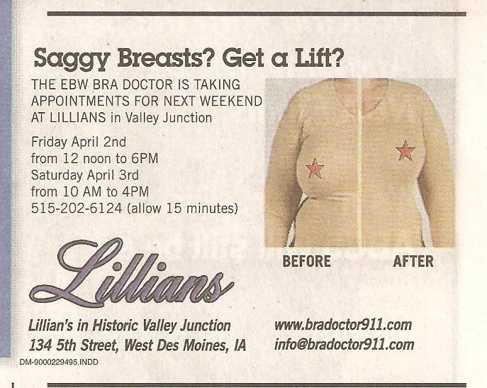 Saggy Breasts Ad