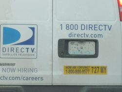 Direct TV Truck