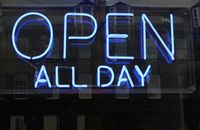 Open Sign Neon