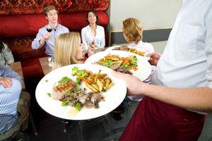 Waiter food