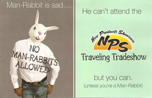Man Rabbit ad