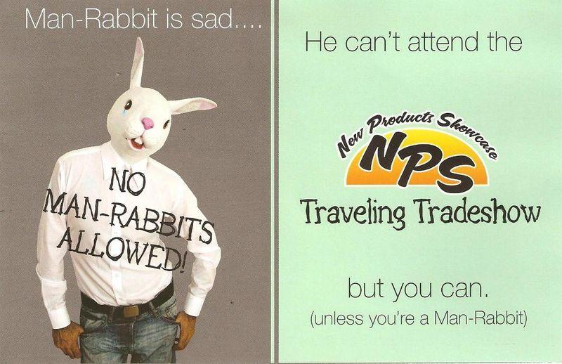 Man Rabbit ad