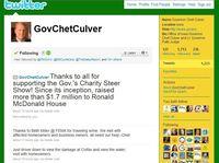 Gov Culver Twitter August 2010