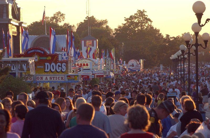 IA State Fair Crowd