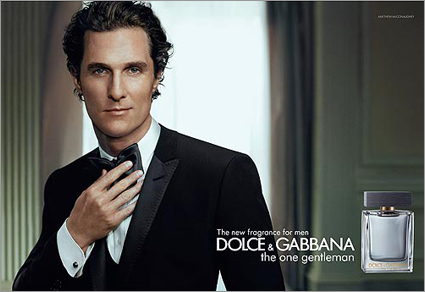 Matthew McConaughey ad