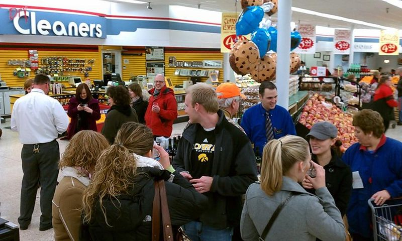 SampleUp HyVee Jan 14 2011