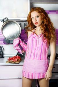 Woman Pan Kitchen