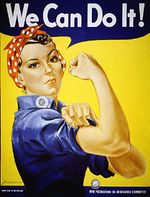 WWII Poster We Can Do It