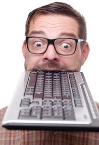Man Funny keyboard