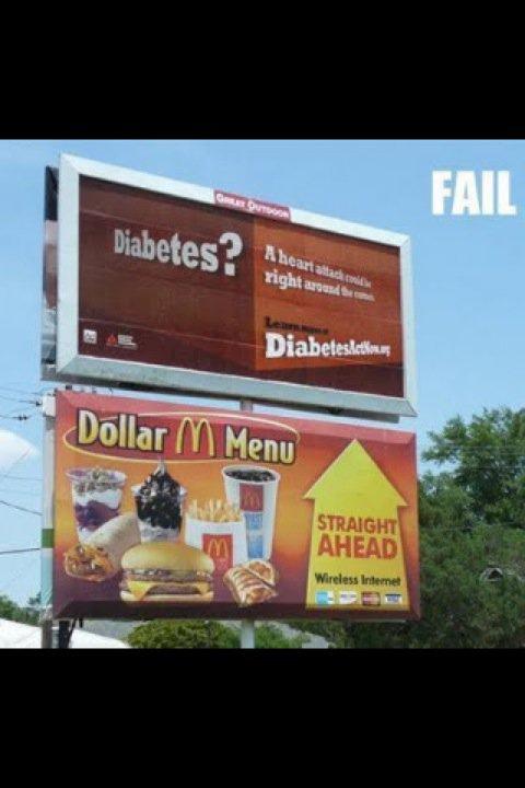 McDonalds Outdoor Sign