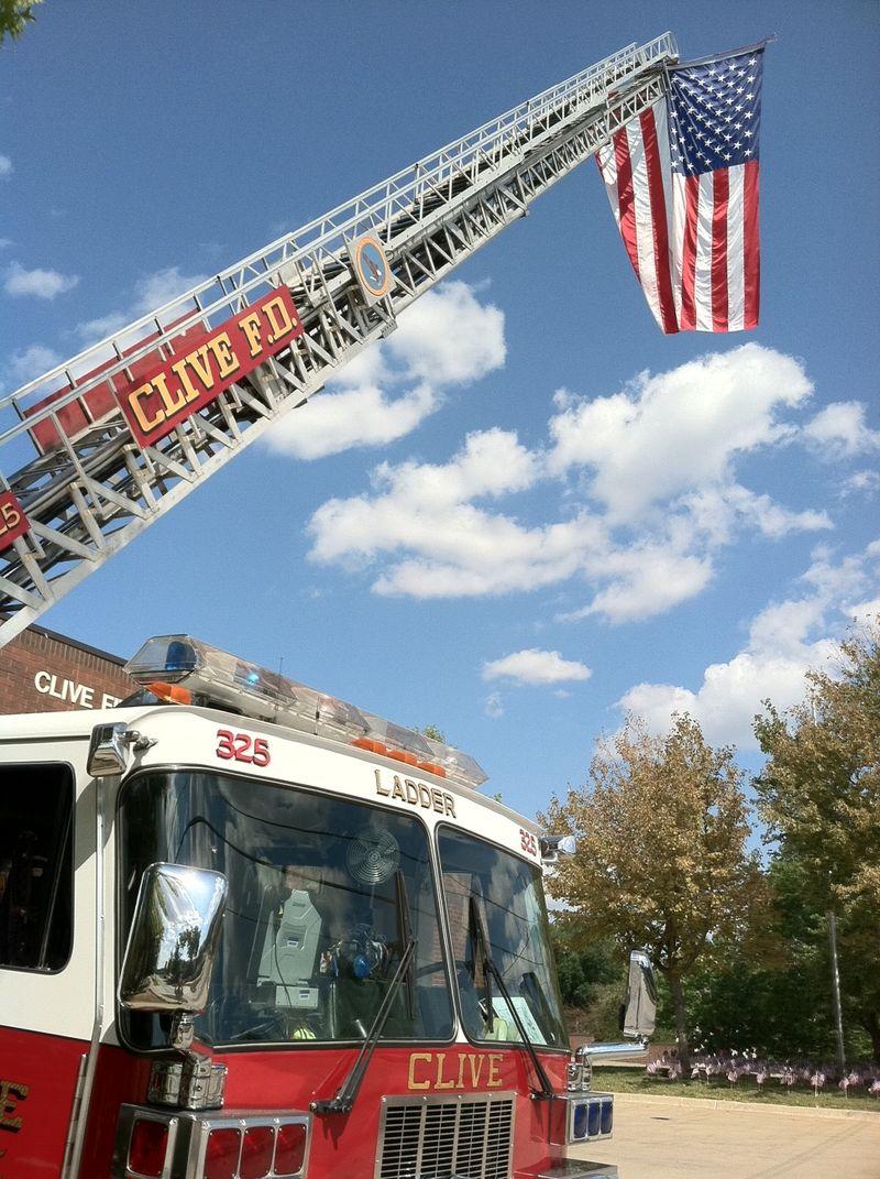 Clive 911 Memorial Truck