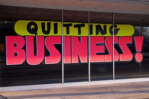 Sign Quitting Business