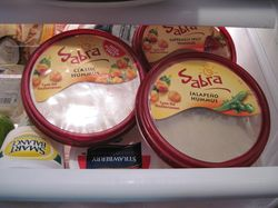 Sabra in Fridge