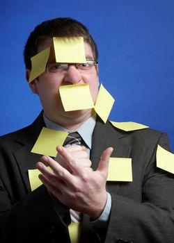 Man Sticky Notes