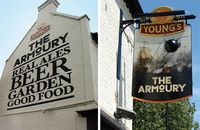Armoury Sign