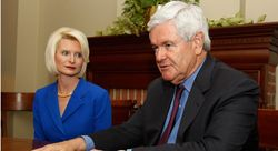 Newt and Wife