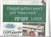 Worst Ad Gutter