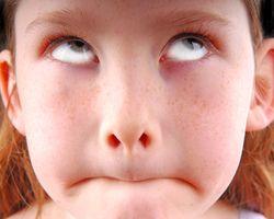 Child Eyeroll