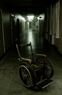 Wheelchair Old