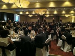 Black and Gold Ball Crowd 2012
