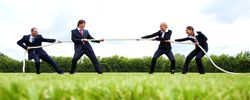 Business Tug of War