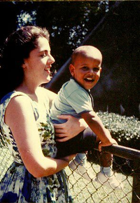 President Obama and Mother