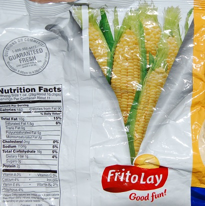 Frito Bag Corn