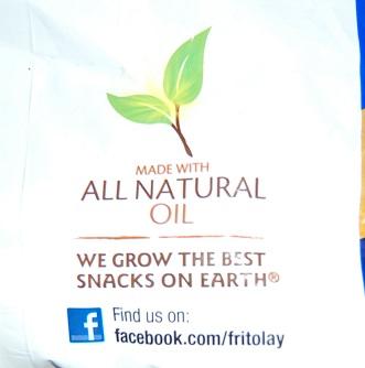 Frito Bag Natural Oil