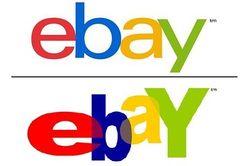 New Old ebay logo