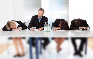 People Business Sleeping