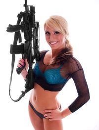 Woman Gun New