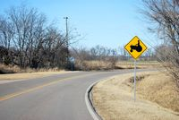 Ag Sign road