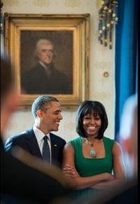 President Obama First Lady Michelle Obama