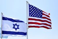 Flag US Israel