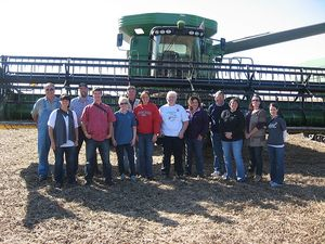 Franklin County Harvest Tour Combine