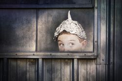 Woman Tin Foil Hat