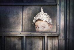 Woman Tin Foil Hat