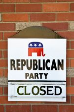 Sign GOP Closed