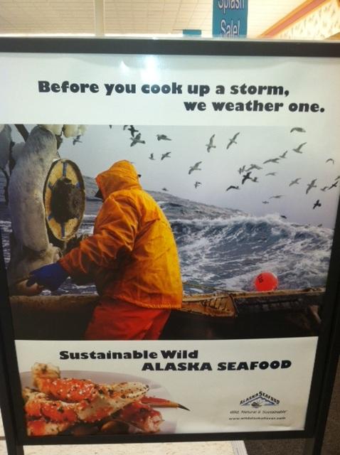 Alaska Fish Sign