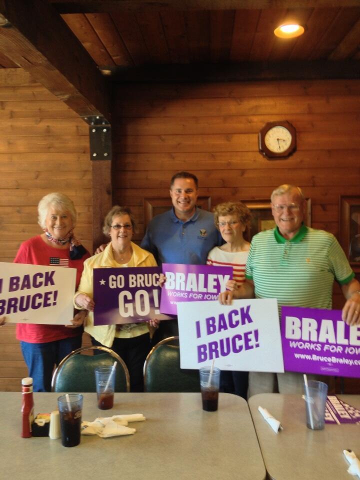 Bruce Braley Humboldt May 2013